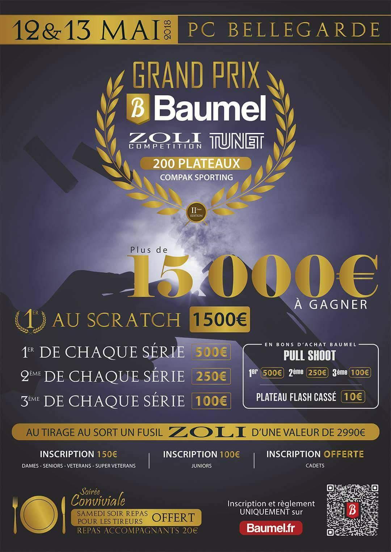 concours Baumel 2018